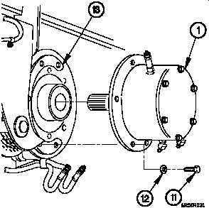 16 50 m1089 oil filled disc brake assembly replacement cont Firomatic Oil Valve Tank 7 remove three screws 11 washers 12 and oil filled disc brake assembly 1 from hoist 13 8 remove check valve 3 from